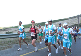 Wave of Records at Two Oceans