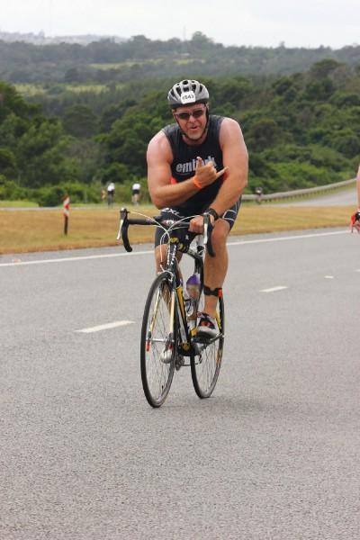 Simone Braendli wins Ironman South Africa 2014 (Photo credit: Robbie Little - FinisherPix)