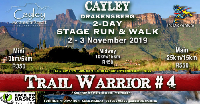 TrailAdventure Cayley TrailWarrior #4 Stage Run & Walk