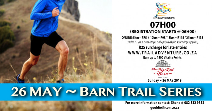 TrailAdventure Barn Trail Run & Walk