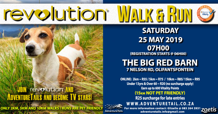 AdventureTails Revolution Walk & Run