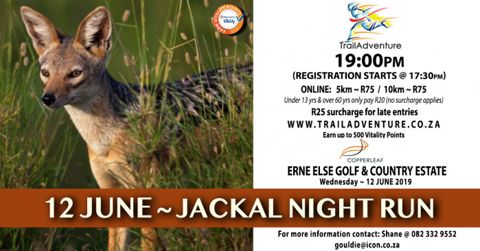 TrailAdventure Jackal Night Run/Walk
