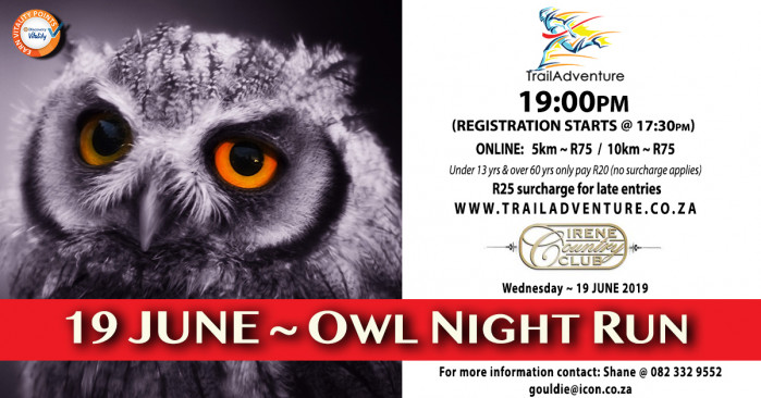 TrailAdventure Owl Night Run/Walk