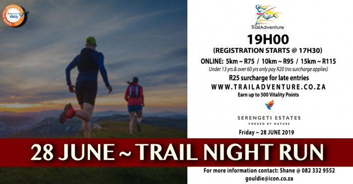TrailAdventure Serengeti Night Run/Walk