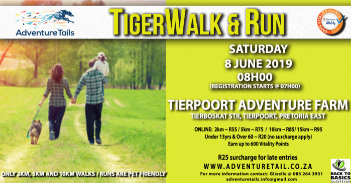 AdventureTails TigerWalk & Run