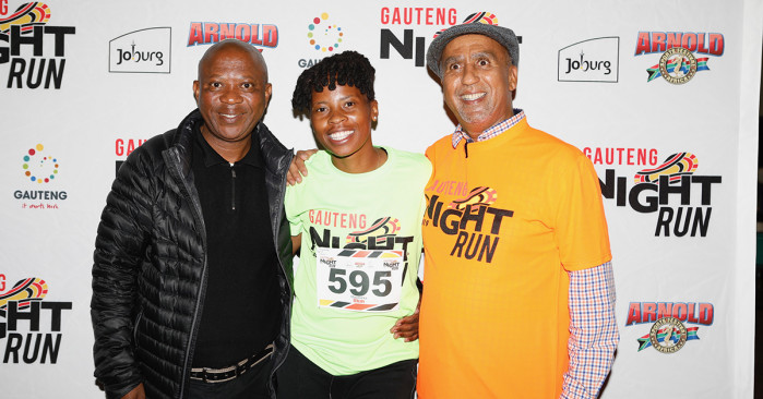 Gauteng Night Run sets Sandton alight